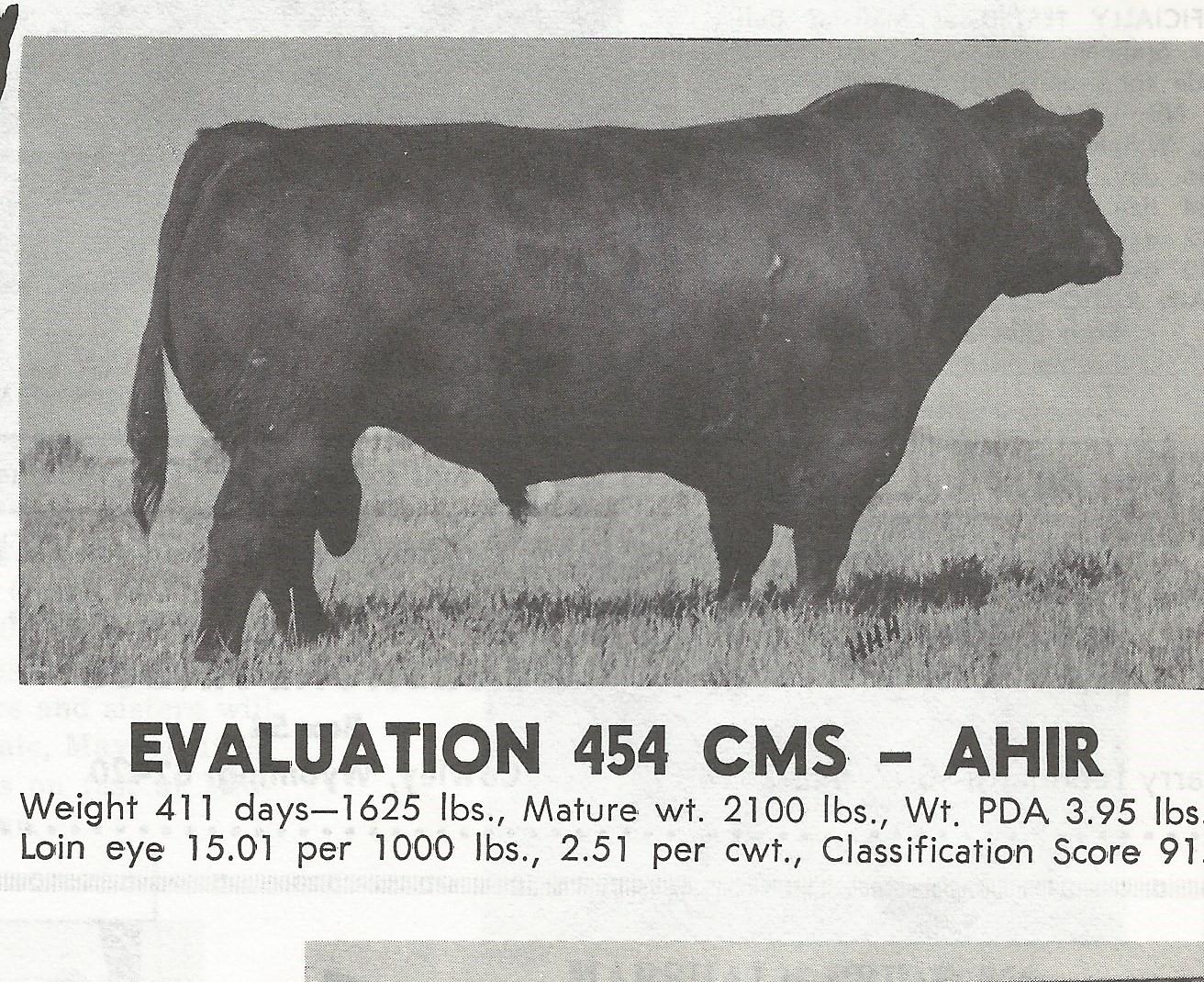 1 ampule of Evaluation 454